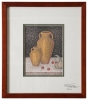 Pots with fruits - Kouzes me frouta limited edition autographed
